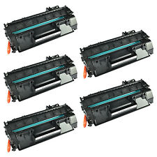 US STOCK 5PK CE505A 05A Black Toner Cartridge with HP for LaserJet P2030 P2035