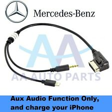 Mercedes Benz Media Interface Aux cable for iPad iPhone 5 6 5S 6S