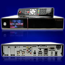 Gigablue HD Quad Plus  2x DVB-S2 HDTV Linux Receiver 2TB HDD schwarz 2000GB