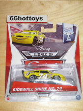 Disney World of Cars Sidewall Shine NO. 74 2014 New