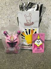 """Dunny by Kidrobot Series 5 2008 3"""", Untitled by artist JK 5"""