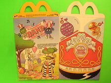 1987 McDonalds HM Box - McDonaldland Band - Professor & Hamburglar