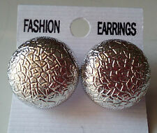 2 Pair New Latest Indian Bollywood Designer silver  Earrings 2 Pc Gift Set