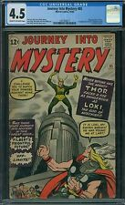 Journey Into Mystery 85 CGC 4.5 - 1st Loki