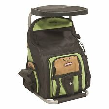 The Angler Backpack- Fisherman's Best Bag and Chair In One!