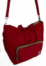Borsa tracolla richiudibile K-WAY a.2BKK1306 SHOULDER BAG col.A4 RED