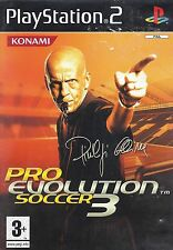 PRO EVOLUTION SOCCER PES 3 for Playstation 2 PS2 - with box & manual