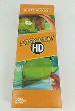 Easy View HD Sun Glare Blocker Visor Flip Fold Down Clip On As Seen On TV