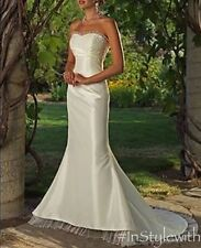 Maggie Sottero Wedding Dress Sz 0 Petite Destination Wedding Line AMAZING