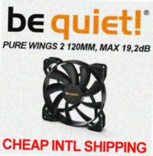 [be quiet!®] PURE WINGS 2 SILENT 120mm CaseFan →Low noise 19.2dB Cooler 12cm CPU