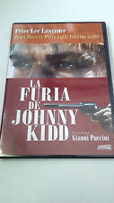 "DVD ""LA FURIA DE JOHNNY KIDD"" COMO NUEVA GIANNI PUCCINI PETER LEE LAWRENCE"