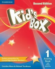 Kid's Box Level 1 Activity Book with Online Resources by Caroline Nixon...