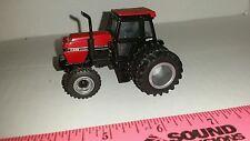 1/64 CUSTOM ERTL FARM TOY CASE IH 3294 TRACTOR W/ CLEAR DETAILED CAB & FWA DUALS
