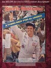 SPORTS ILLUSTRATED June 5 1978 AL UNSER INDIANAPOLIS 500 TED SIMMONS HENRY RONO