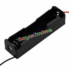 1PCS Plastic Battery Case Holder Storage Box for 18650 Batteries 3.7V Black