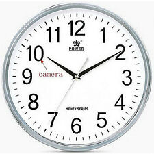 Wireless Wifi IP P2P Wall Clock Camera DVR Video Recorder for Iphone Android DV