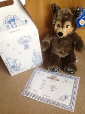 BNWT Build A Bear BAB Halloween Werewolf , Box And Certificate