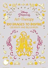 Art Coloring Disney Princess Creativity Relaxation Therapy Paint Adults Kids Fun