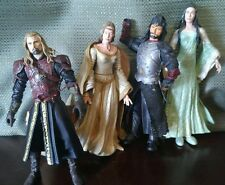 Lord Of The Rings Marvel Action Figures Lot of 4 2002 2003 2004 NLP