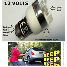 12V REVERSING BEEPER WARNING BLEEPER BULB BMW 1,3,5,6,7 SERIES MINI X3 X1 X5 X6