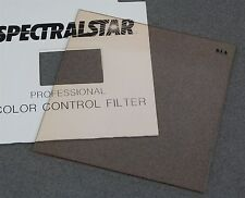 """4"""" x 4"""" 100mm Square RESIN FILTER SPECTRALSTAR PRO WRATTEN 81A COLOR CONVERSION"""