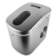 Stainless Portable Countertop Ice Maker Fast Bullet Ice Cube Machine 26 lbs./Day