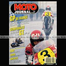 MOTO JOURNAL N°807 HONDA MTX 125 R, KAWASAKI GTR 1000 & GPZ RX, HUSQVARNA 510 TE