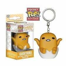 "GUDETAMA THE LAZY EGG  2"" POCKET POP KEYCHAIN VINYL FIGURE FUNKO SANRIO"