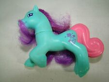 McDonald's 1998 My Little Pony Ivy Toy Blue Purple Made In China HF Chine