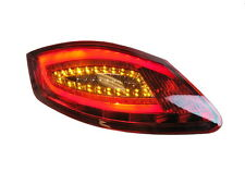 Porsche 987 Boxster Cayman Red / Clear 981 style LED Tail Lights