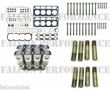Chevy 5.3 LS4 VIN-C Cylinder Head Gasket Set+Bolts+AFM Lifters Kit 05-09