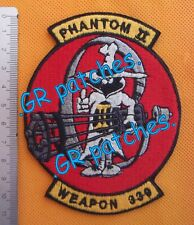 Old Greek F-4E Phantom 339 sqn. WEAPONS Team Air Force Patch Greece Hellenic