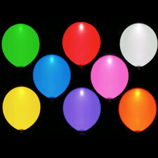 LED Balloons, Assorted Light Up Colors Party Balloons,parties,bbq's pack of 15,