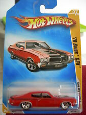 Hot Wheels '70 Buick GSX 2009 New Models Red