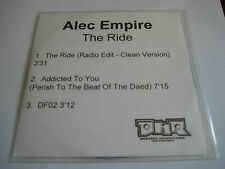 *ULTRA RARE* ALEC EMPIRE 'THE RIDE' UK CD PROMO SINGLE [2002] ATARI TEENAGE RIOT