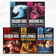 Robert Muchamore CHERUB Collection 5 Books Set Black Friday, Brigands M. C NEW