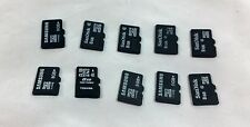 Lot of 10 Mixed Brand 8GB Micro SD SDHC Cards