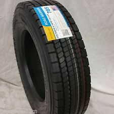 (2-TIRES) 245/70R19.5 H/16 NEW ROAD WARRIOR DRIVE TIRES 16 PLY 24570195