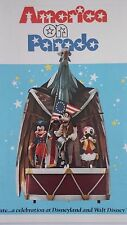 Walt Disney World America On Parade Bicentennial Disneyland Color Pictorial Book