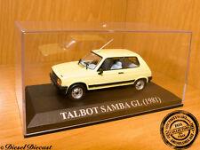 TALBOT SAMBA GL SOFT YELLOW 1981 1:43 MINT!!