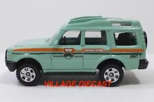 2010 Matchbox #81 Land Rover Discovery GENTLE GREEN/WILDFIRE RESCUE/MINT