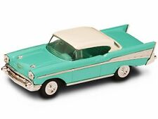 1957 Chevrolet Bel Air, Turquoise Yatming 94201 1/43 Scale Diecast Model Toy Car
