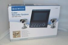 BUNKER HILL SECURITY COLOR SECURITY SYSTEM WITH NIGHT VISION