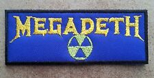 Megadeth embroidered patch Rust in Peace Metallica Slayer