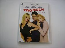 TWO MUCH - DVD NUOVO NON SIGILLATO - ANTONIO BANDERAS - MELANIE GRIFFITH