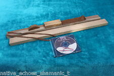 Native American Style Flute Making Kit. Red Cedar Flute Blanks with CD
