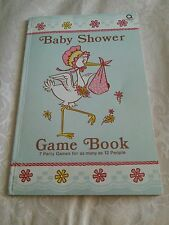 Retro Baby Shower Game Book 7 Games for 12 Guests