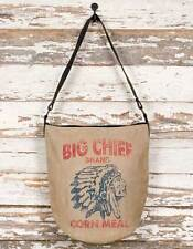 Big Chief Indian Head Market Shopping Tote, Diaper Bag, School BookBag, HandBag