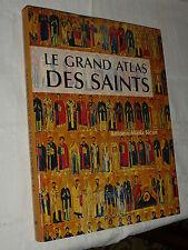 livre le grand atlas des saints