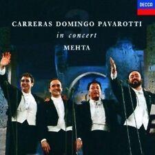 CARRERAS DOMINGO PAVAROTTI: IN CONCERT / ZUBIN MEHTA - DECCA CD (1990)